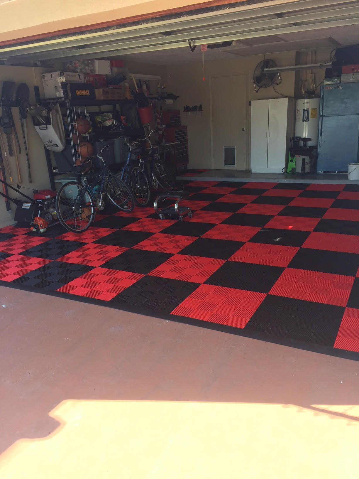 "Doug thinks his tiles ""Came out Perfect!"" GarageFlooring"