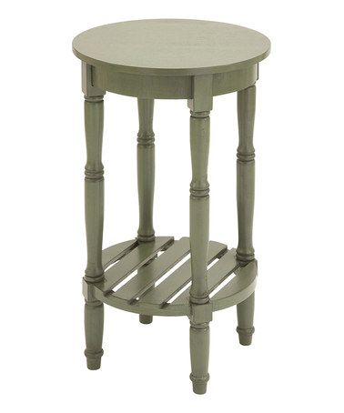 Take a look at this Mint Side Table by UMA Enterprises on #zulily today!