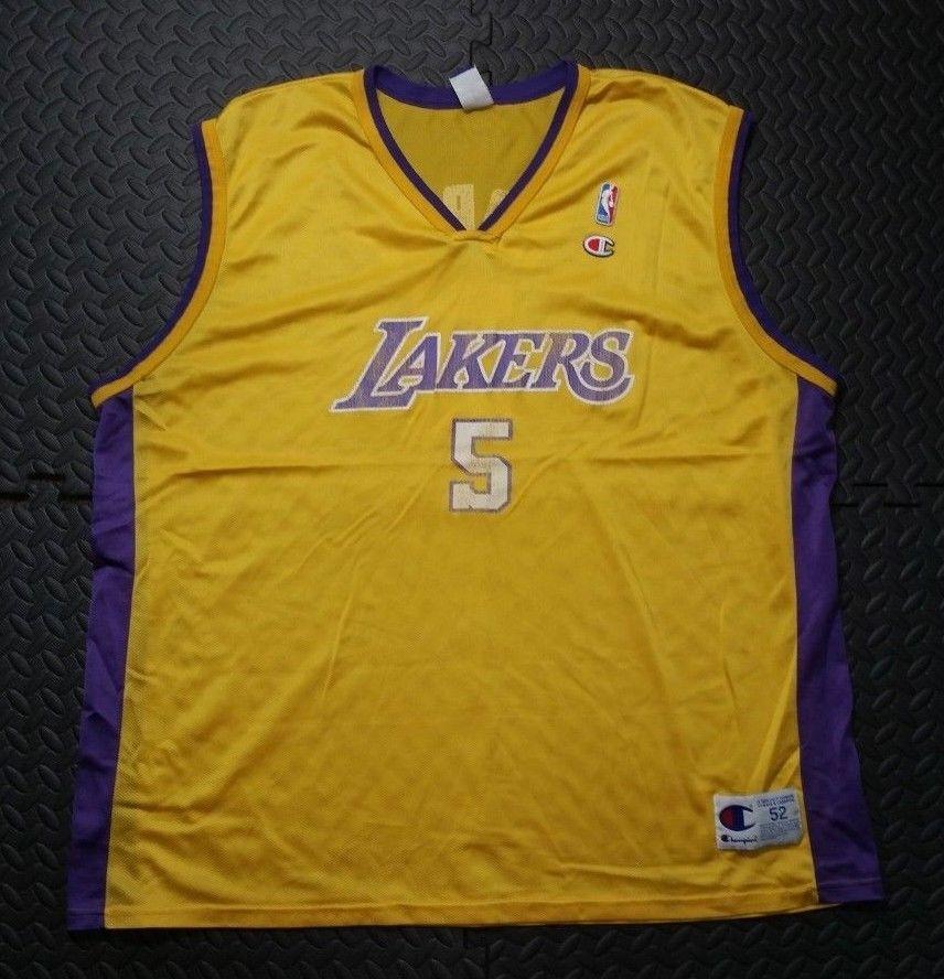 75f91c940ff Men's Los Angeles Lakers Basketball Jersey Robert Horry NBA Champion Shirt  2XL #NBA #Jerseys