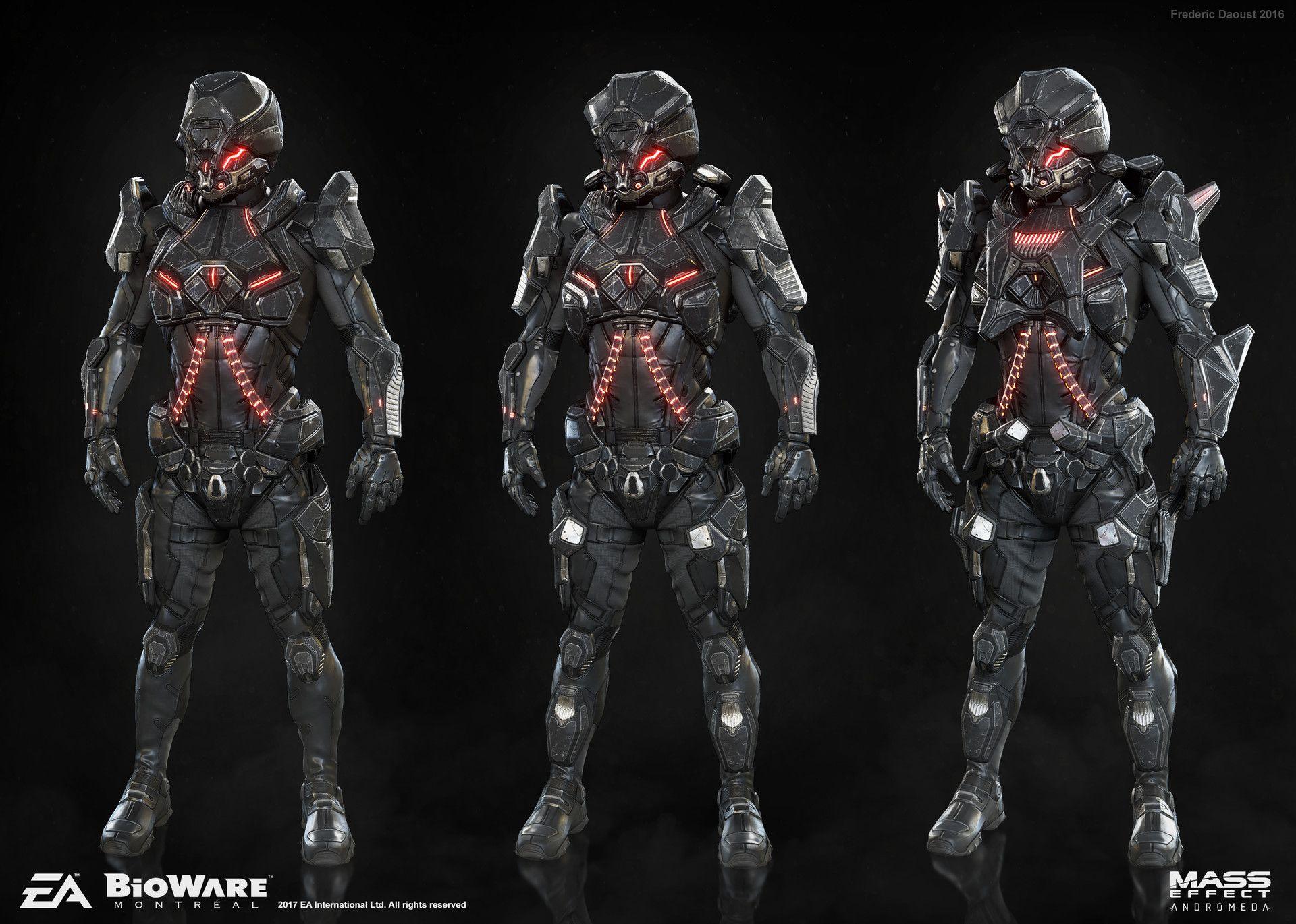 N7 Armor Mass Effect Andromeda: Mass Effect: ANDROMEDA Remnant Armor Set