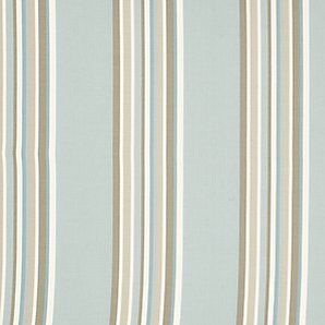 Maggie Levien For John Lewis Cordelia Stripe Fabric Grey