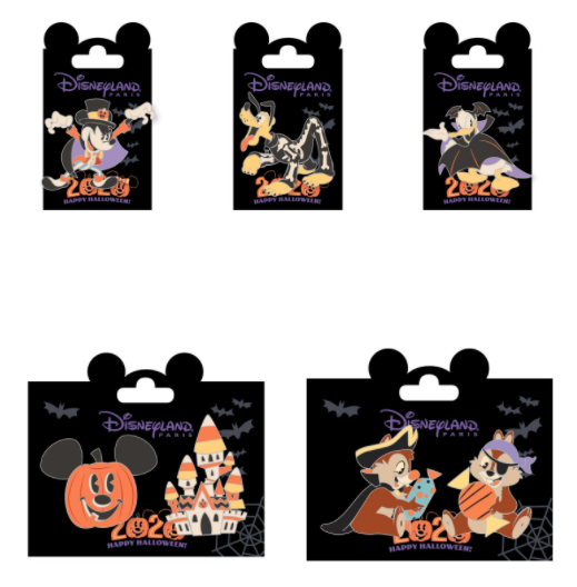Force is Spooky Disney Parks Style Button Star Wars Halloween
