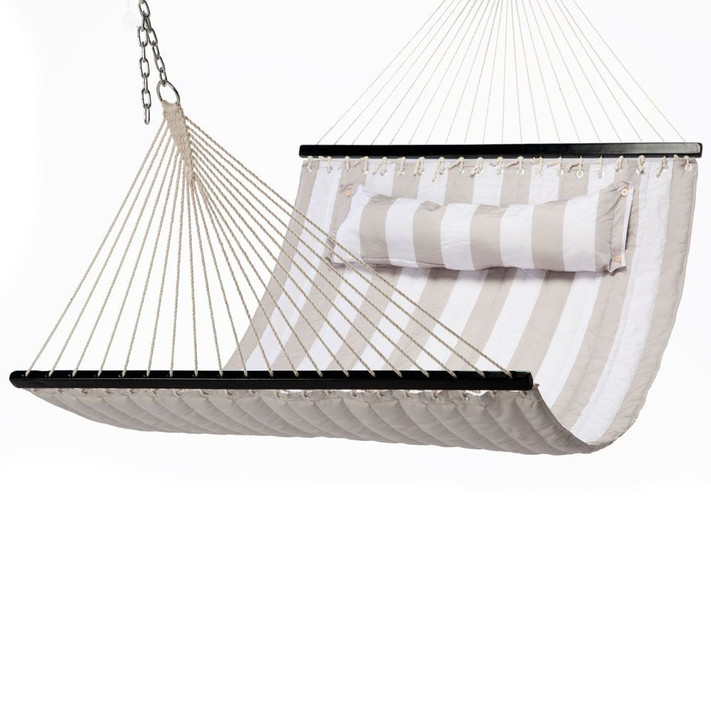 This looks super comfy! $155.99 Quilted Hammock   EmpirePatio