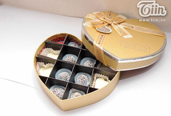Học cách làm socola tặng người yêu cùng cô bạn khéo tay - Chuyên Mục Yêu - Tiin.vn