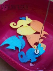 Photo of Fishing games, grab the fish – handicrafts with children