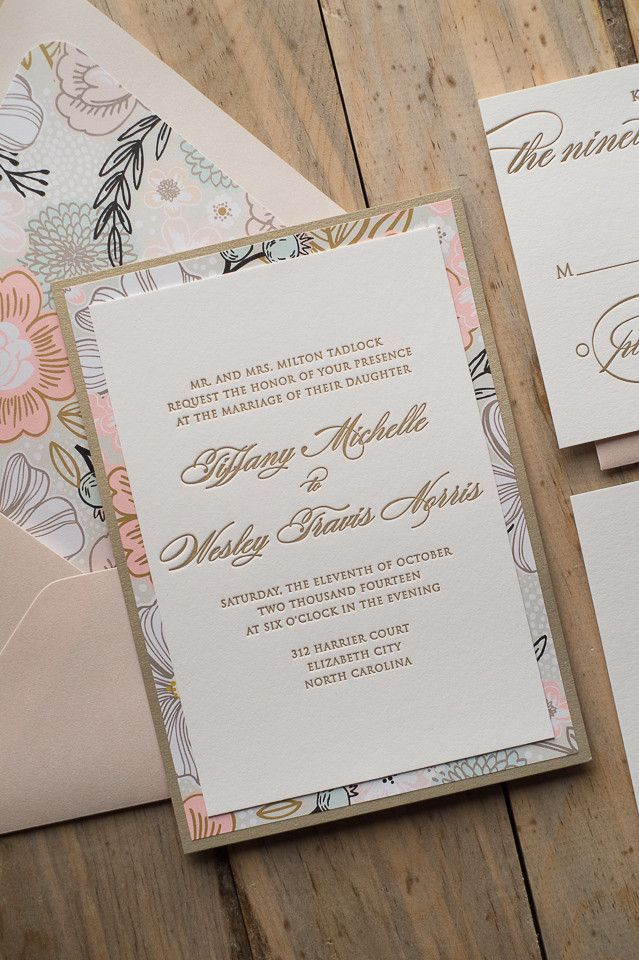 DIANE Suite Fancy Floral Package Neutral wedding colors