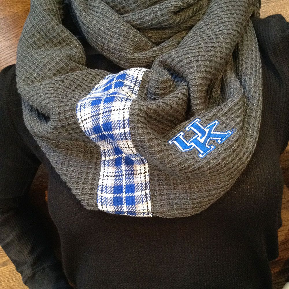 NCAA Officially Licensed Kentucky Wildcats Striped Infinity Scarf