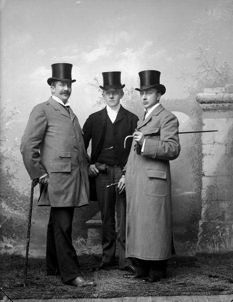 Mens Daywear c.1899 | Source: Oslobilder