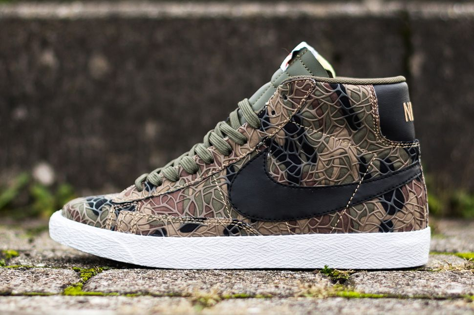 competitive price 60b66 051f6 Nike Blazer Mid Premium Vintage QS  Safari  (Jungle Camo)