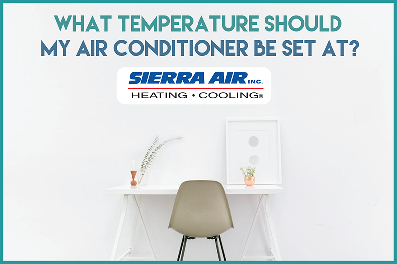 """Ever ask yourself... """"What Temperature Should My Air"""