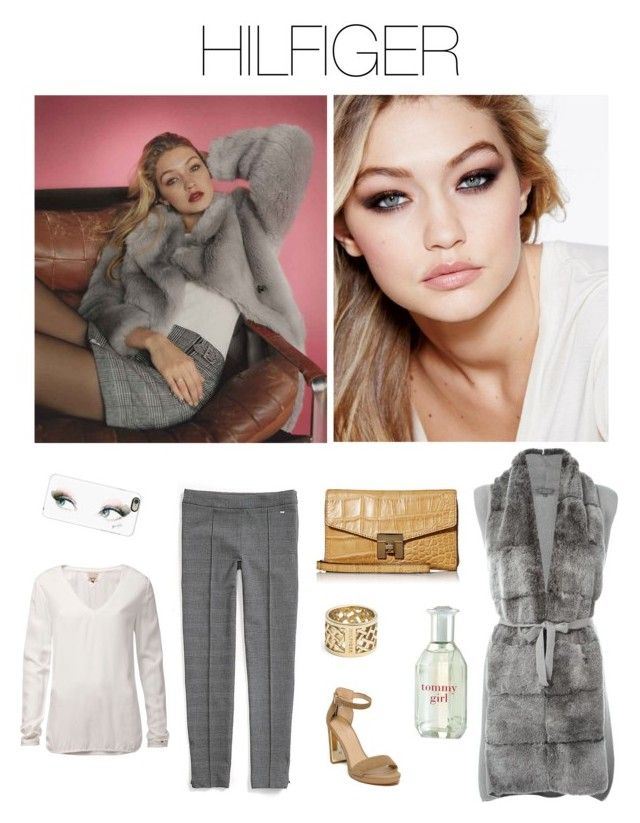 Tommy Girl by annia-radanovic on Polyvore featuring polyvore fashion style Tommy Hilfiger N.Peal Casetify Topshop Maybelline clothing