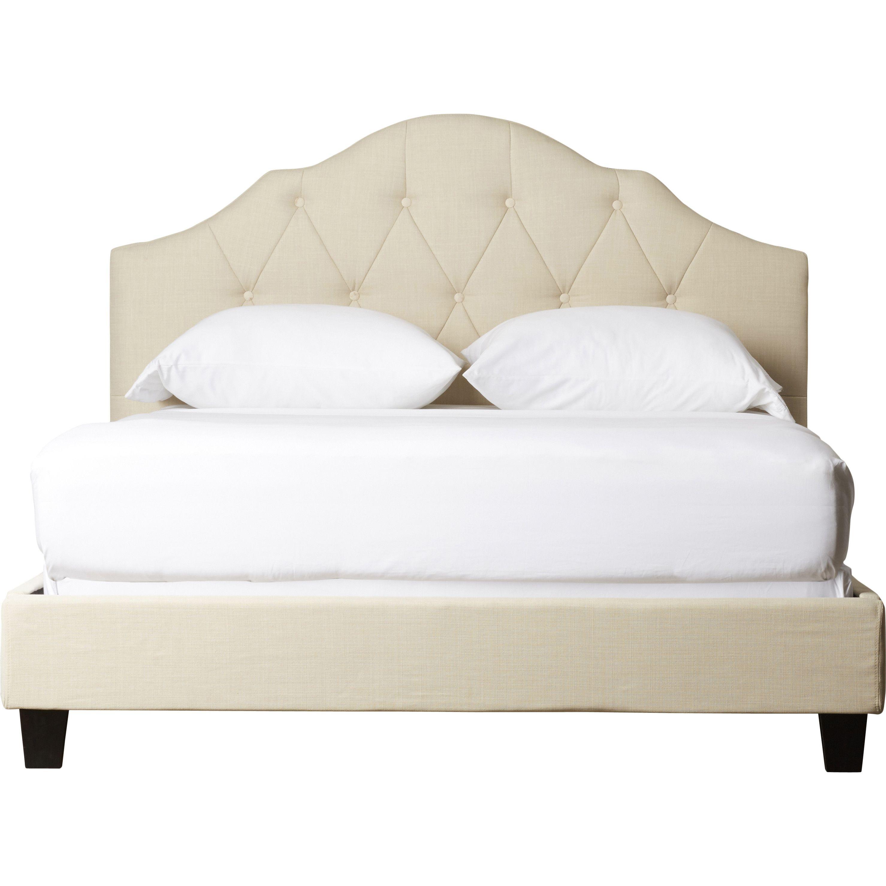Arlene Upholstered Bed | Bed ideas | Pinterest