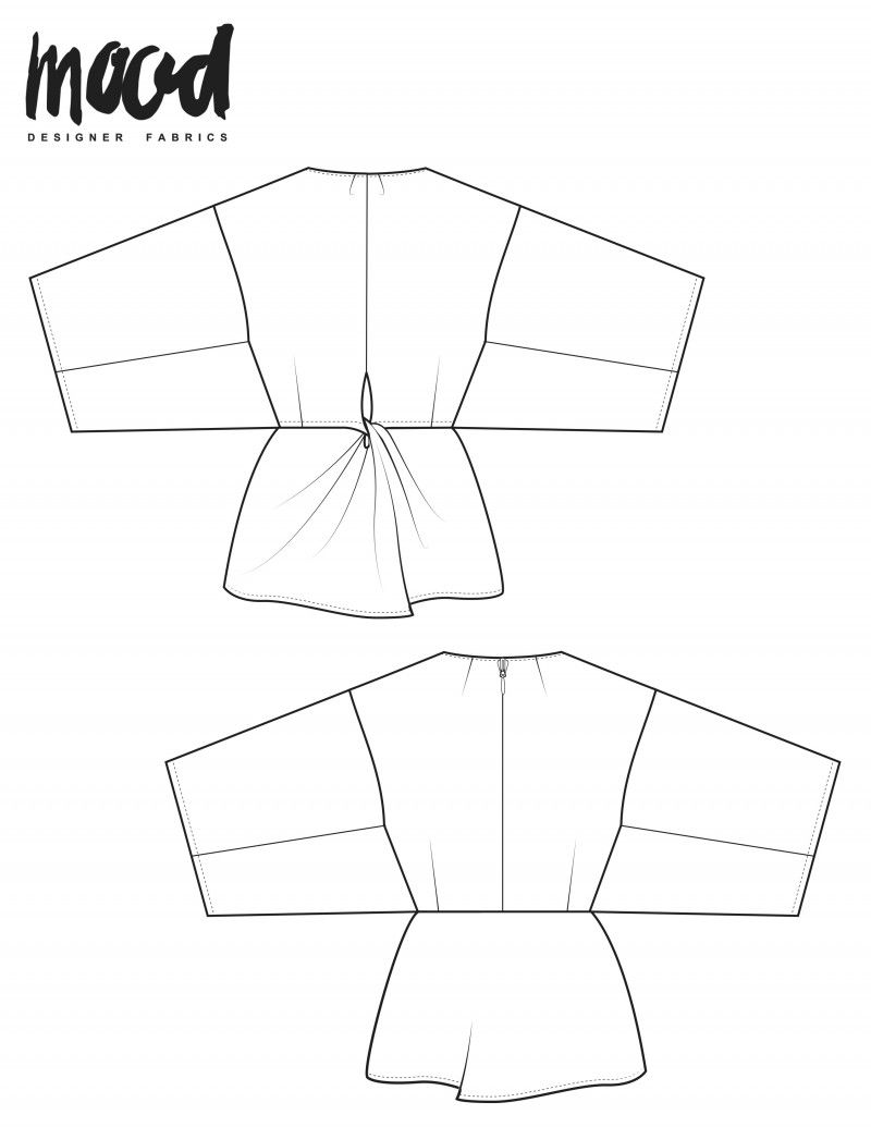 The Wisteria Shirt - Free Sewing Pattern | käsityöt | Pinterest ...