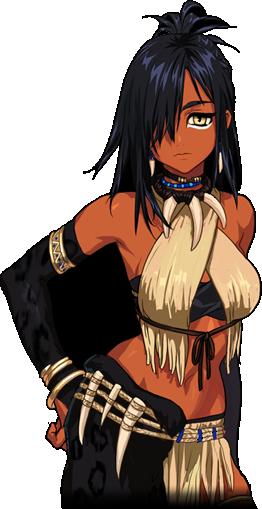 Pin on Dark Skinned Anime Girls
