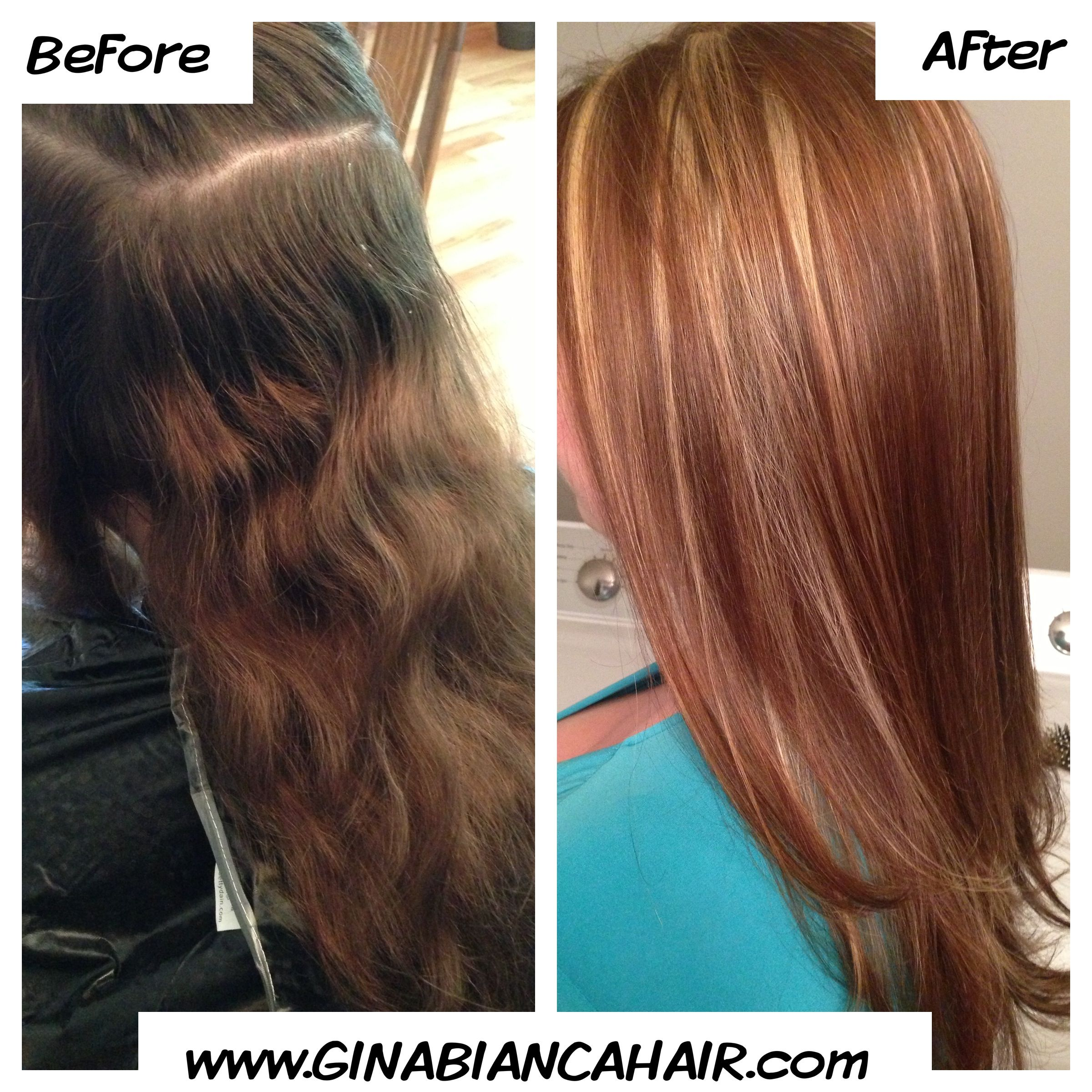 Highlights and lowlights make a huge difference fall hair new