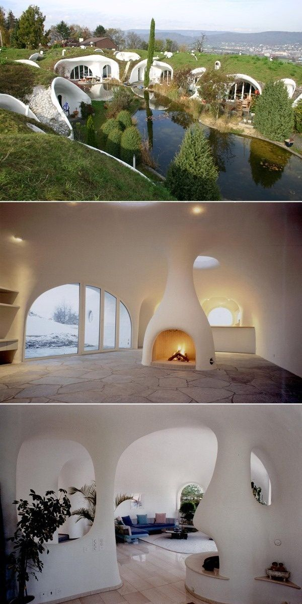 Switzerlands earth houses are reminiscent of real hobbit holes more in ...