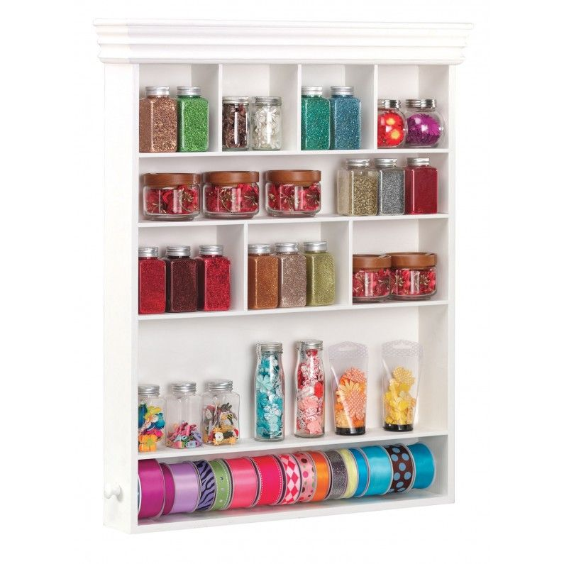 Organize Your Jewelry Making Studio: 3 Steps For Making Your Small Space  Work. Craft Storage ...