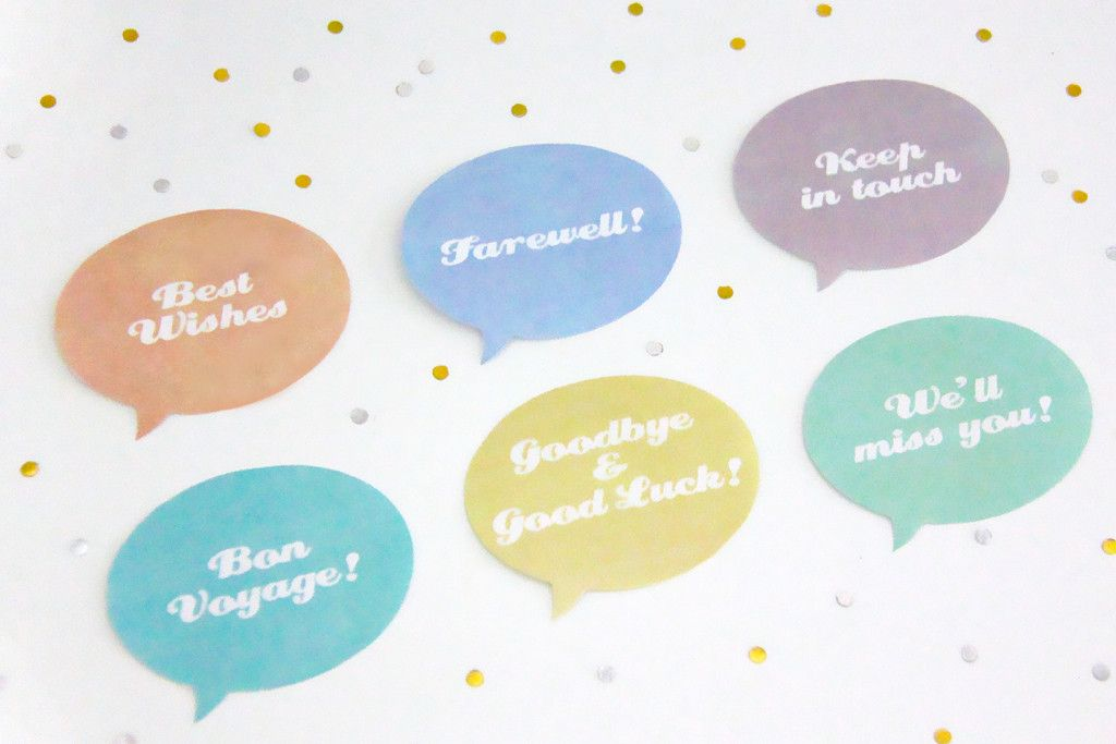 farewell party printable party toppers creative sense co farewell