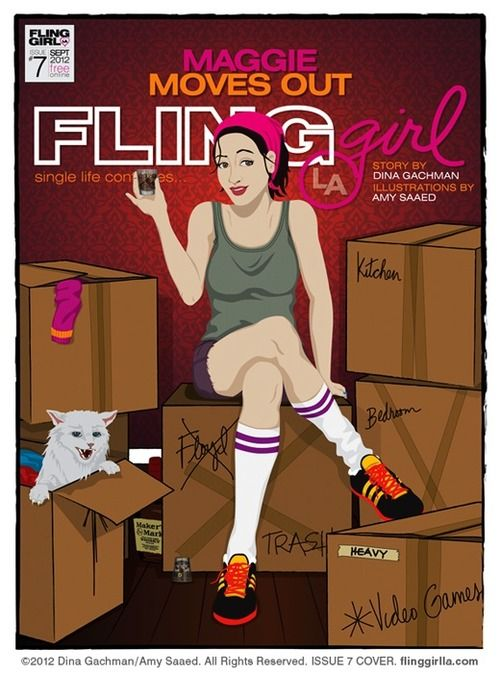 Brand New Issue!! Coming next week... http://flinggirlla.tumblr.com/#