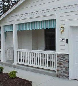 Porch Awnings Traditional Roller Curtains Porch Valances