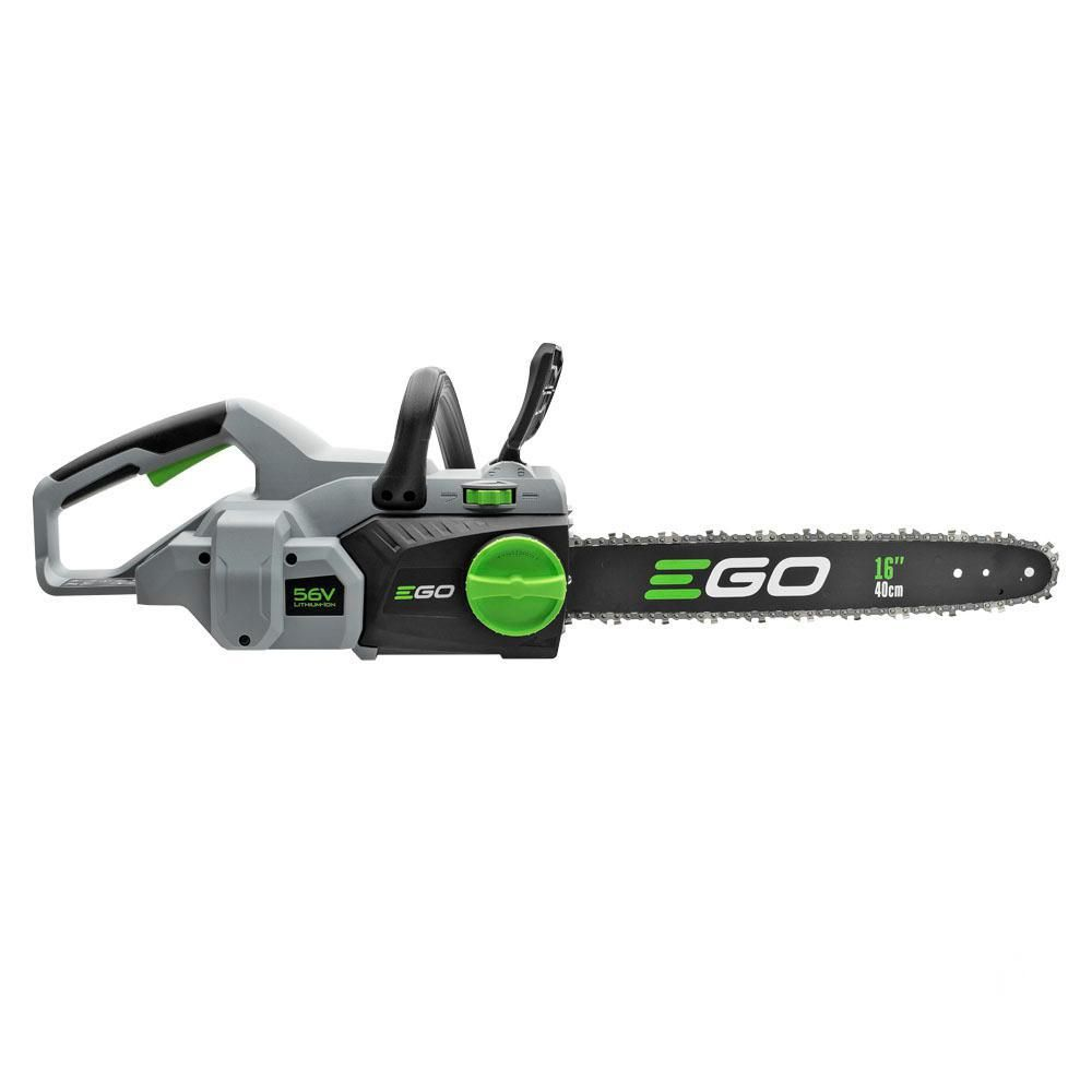 Ego 16 In 56 Volt Lithium Ion Cordless Chainsaw Battery
