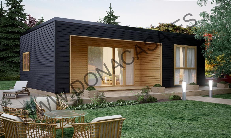 Formentera 73m2 entramado ligero entramado ligero casas pinterest casas planos de casas - Casas entramado ligero ...