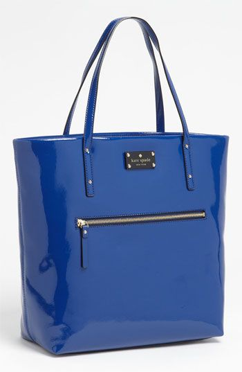 kate spade new york patent leather bon shopper available at #Nordstrom