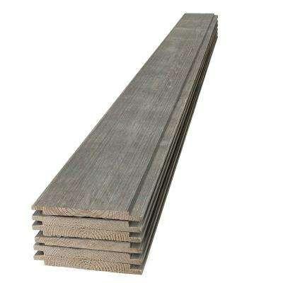1 In X 8 In X 8 Ft Barn Wood Gray Shiplap Pine Board 6 Pack In 2020 Shiplap Barn Wood Gray Shiplap