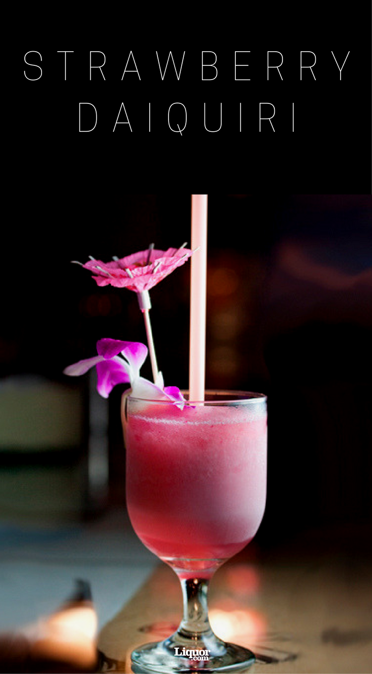 Wunderbar Strawberry Daiquiri Rezept Referenz Von The Is A Classic Summertime Drink. Chill
