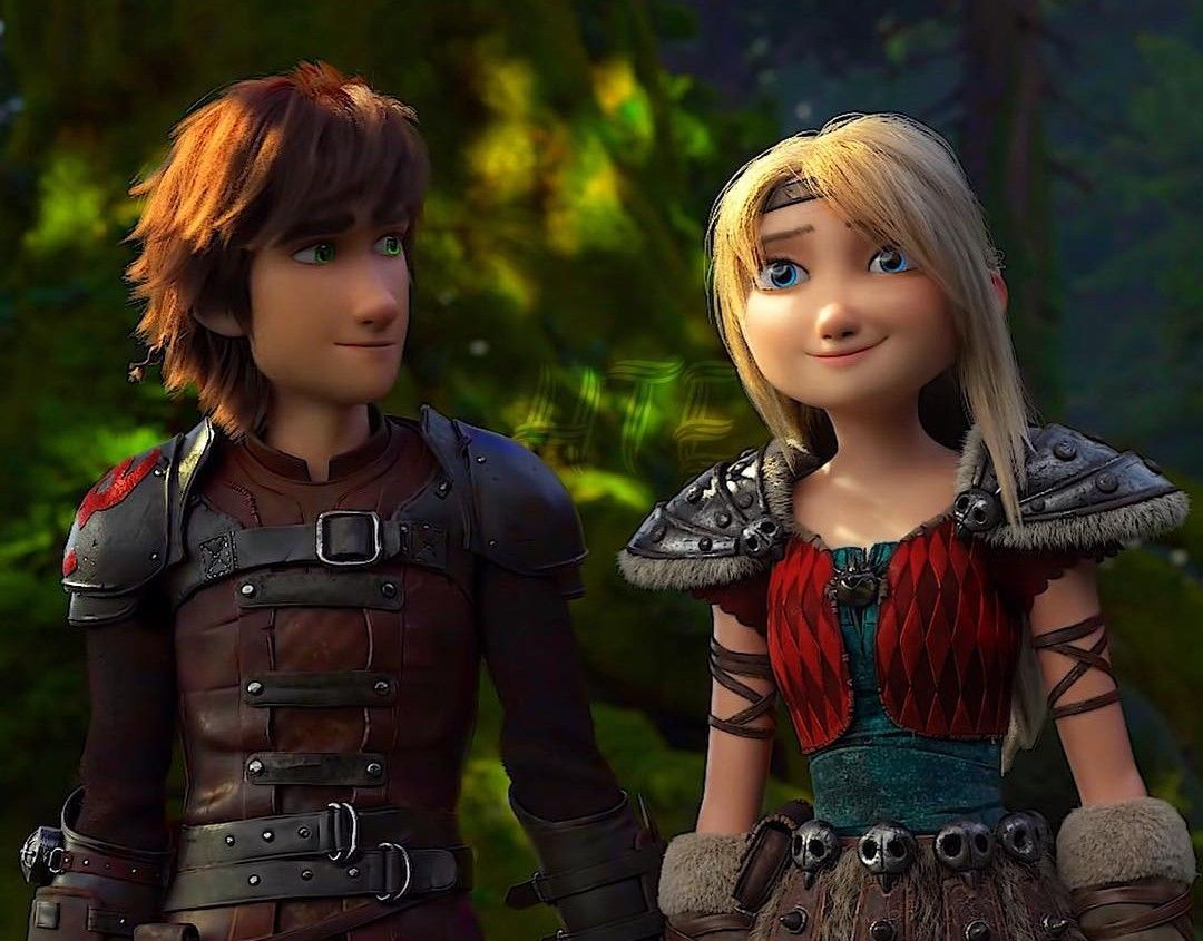 Hiccup And Astrid From How To Train Your Dragon 3 The Hidden World How Train Your Dragon How To Train Your Dragon How To Train Dragon
