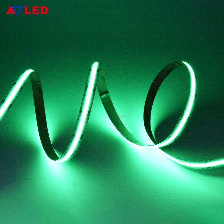 2019 New Arrival 12v 24v White Red Green Blue Yellow 528 Chips No Lighting Dot Cob Led Strip Lig Led Strip Lighting Flexible Led Strip Lights Led Tape Lighting