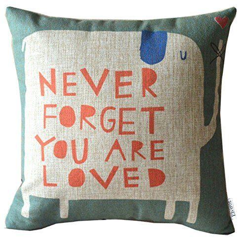 elviros cotone misto lino decorativo fodera per cuscino 4 http