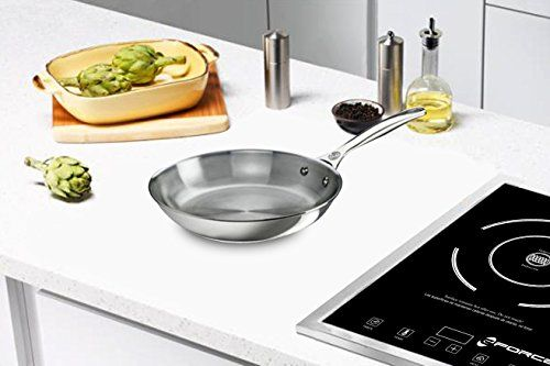 Gforce Gfp13691241 Portable Electric Single Induction Stove Burner Cooktop 1800 Watts Click Image To Review Induction Stove Portable Cooktop Electric Stove