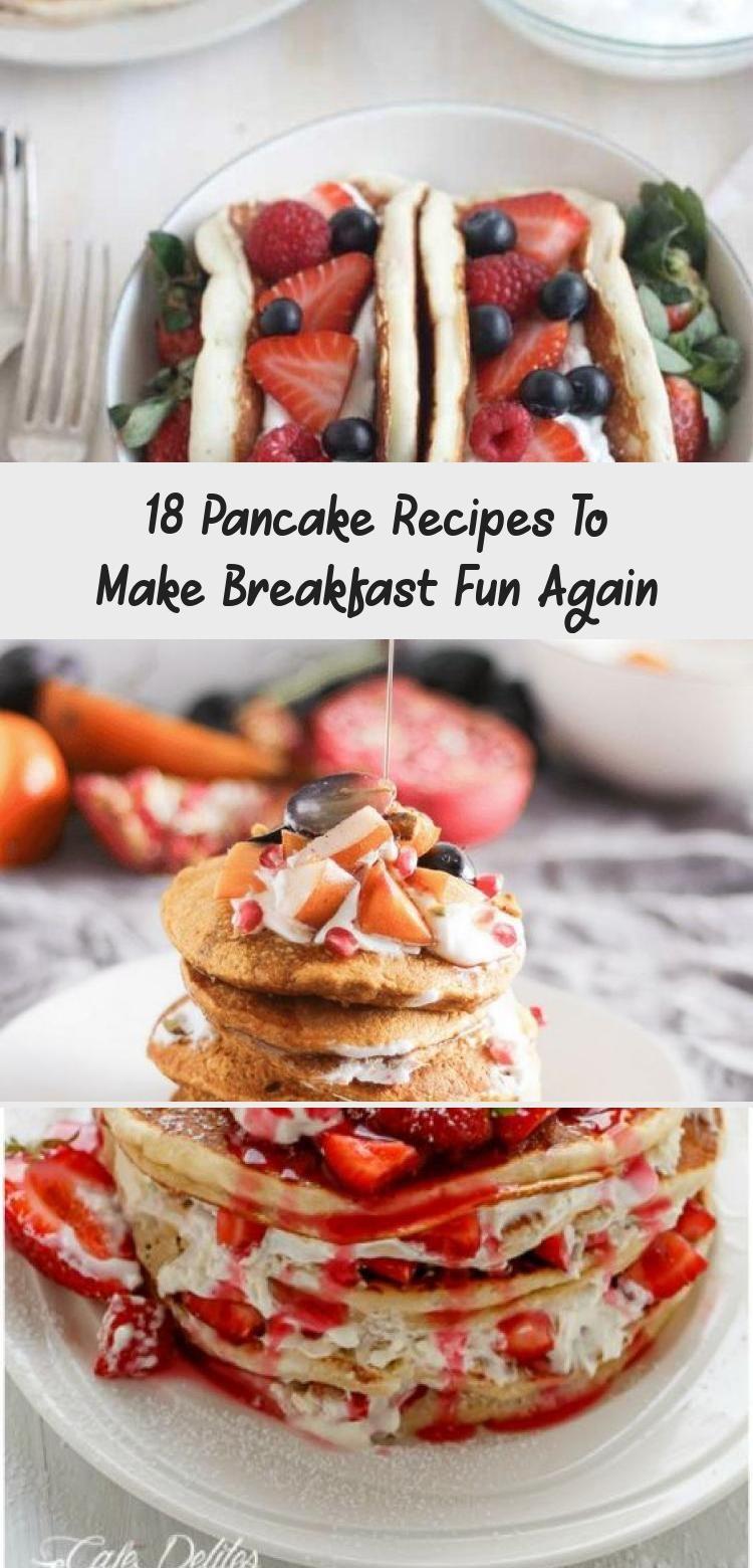 18 Pancake Recipes To Make Breakfast Fun Again - Cakes #japanesepancake