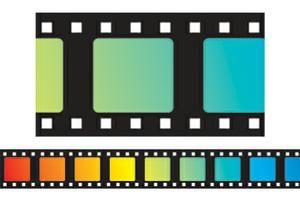 popcorn movie bulletin boards | Colorful Movie Film Bulletin Board Border, Straight | SS-14089 | CD ...
