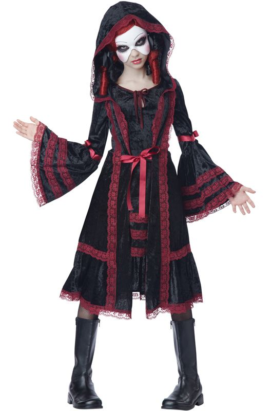Trend Spotter Deathly Doll Costumes Costumes and Dolls - halloween costume ideas for tweens
