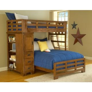 Hardy Twin Over Full Loft Bed And Storage This Rustic