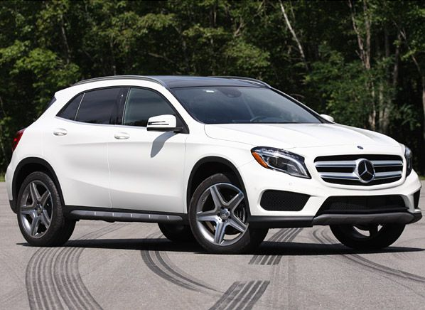 Mercedes benz gla joins the small suv fray small suv for Expensive mercedes benz suv