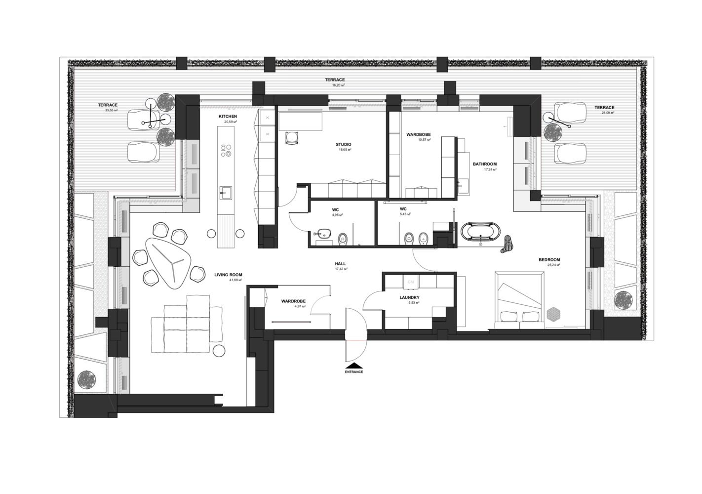 Gallery Of Soft Loft Line Architects