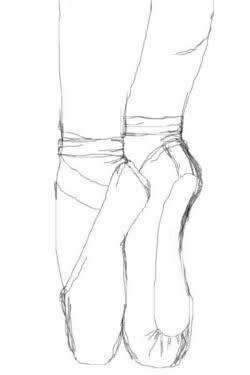 Desenhos De Sapatilhas De Bailarinas Tumblr Pesquisa Google