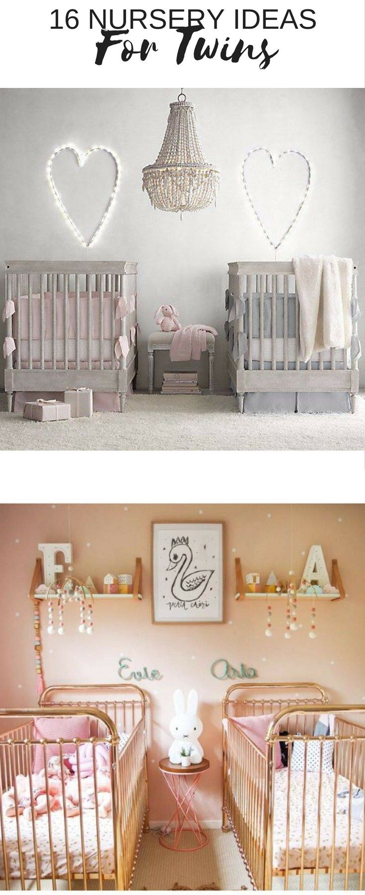 17 Gorgeous Twin Nursery Ideas Baby Twins