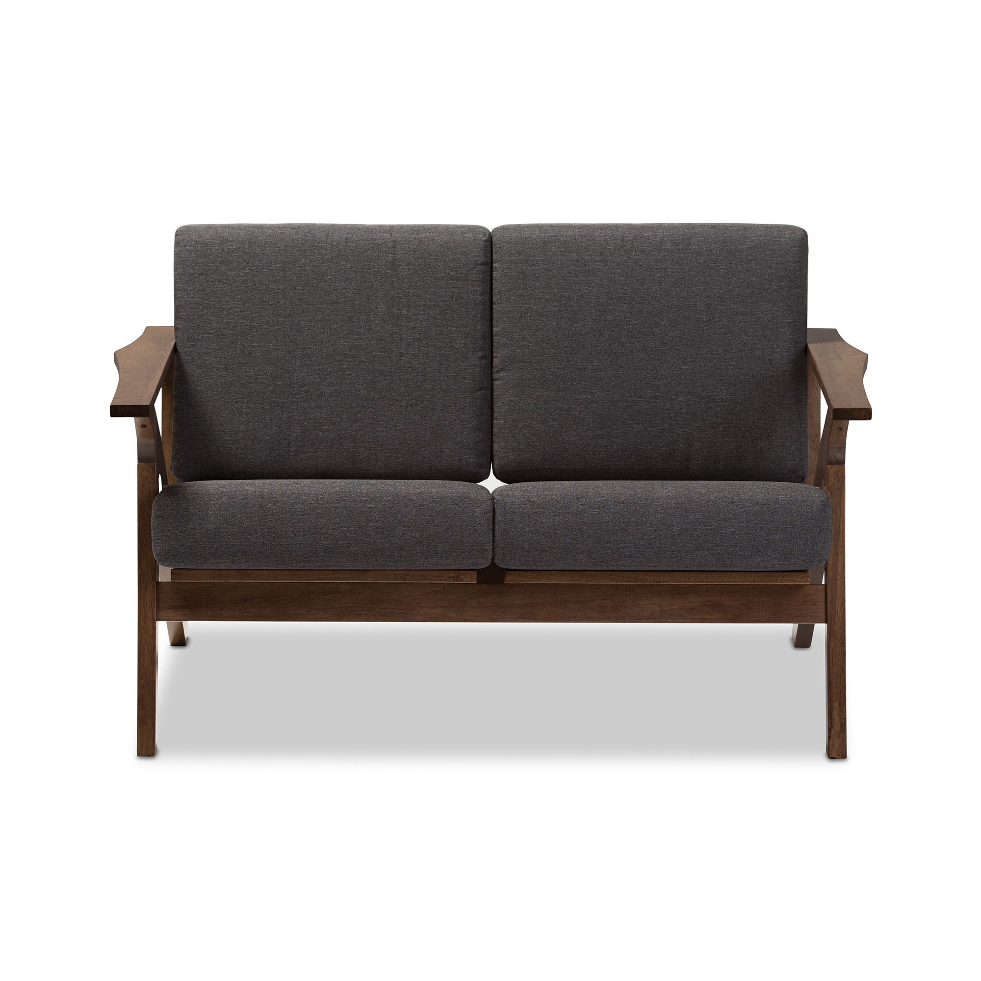 sofa set brown loveseat new soflex fabric wood hm ebay itm couch chenille trim room living renata