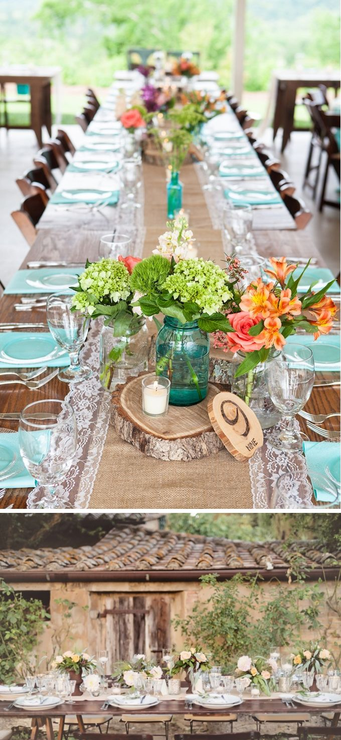 Ideas para una boda campestre decoraci n bodas for Decoracion boda campestre