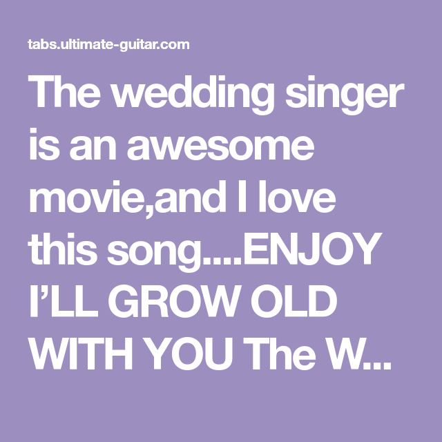 Why You Should Not Go To Wedding Singer Soundtrack The Wedding Singer Singer Soundtrack Songs