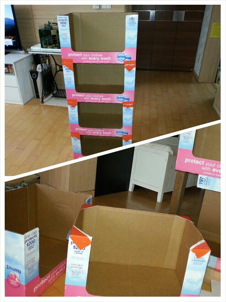 Empty Cardboard Boxes Simple Storage Chest Great For Toys Diy Gift Box Cardboard Crafts Diy Cardboard Furniture