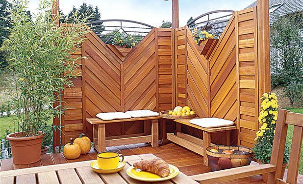 windfang selber bauen, sichtschutz terrasse | outdoor | pinterest | sichtschutz, sicht und, Design ideen