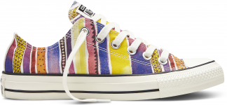 Converse Chuck Taylor All Star Womens Low Top Aurora Yellow Solar Orange  Egret 4cb7953e3