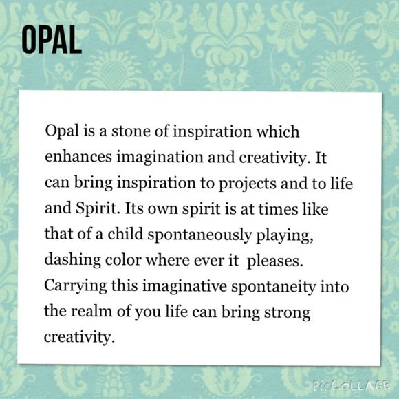 Ohmgems Jewelry Gemstone Meaning Opal Stones Opal