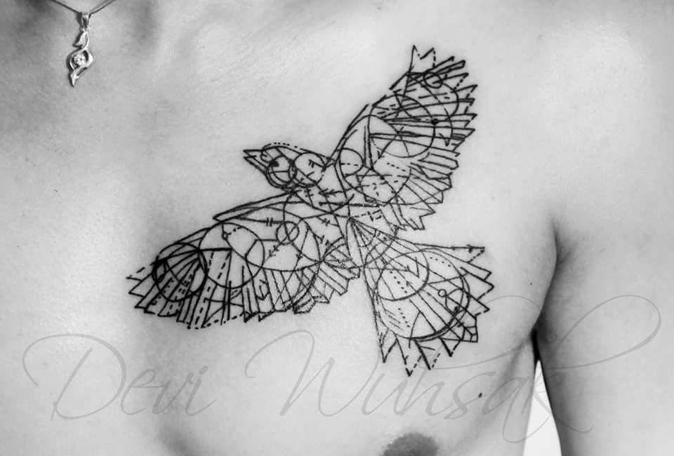 deviwuhsak tattooart tattoo tatuaje ink inklove pajaro bird linestattoo lineas. Black Bedroom Furniture Sets. Home Design Ideas