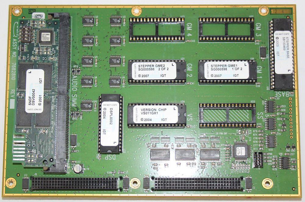 eBay Sponsored IGT Software Set SB100469 S2000 Double
